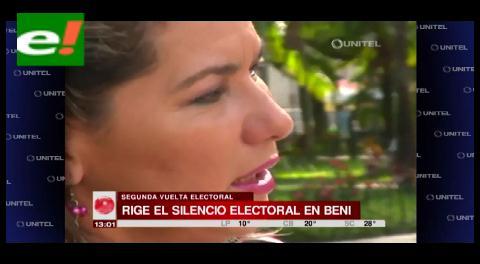 El material electoral ya fue repartido en las provincias del Beni