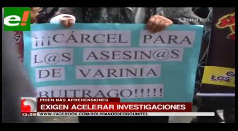 Familiares y amigos de Varinia Buitrago piden justicia