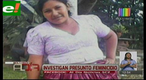 Investigan feminicidio en El Torno