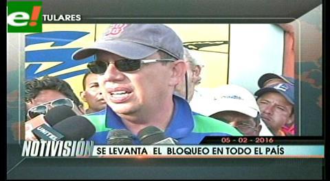 Titulares de TV: Transportistas anunciaron de manera oficial que mantienen sus medidas de presión hasta después del Referéndum