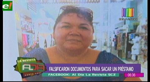 Falsifica documentos para obtener un préstamo de más de 400 mil bolivianos