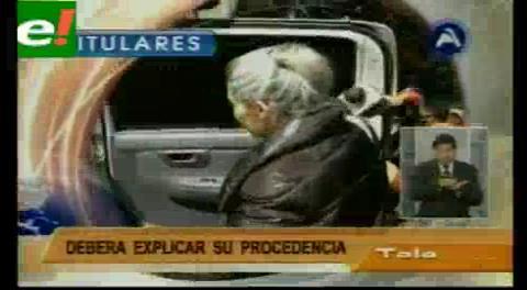 Titulares de TV: Millonarios movimientos económicos se descubren en cuentas de Gabriela Zapata