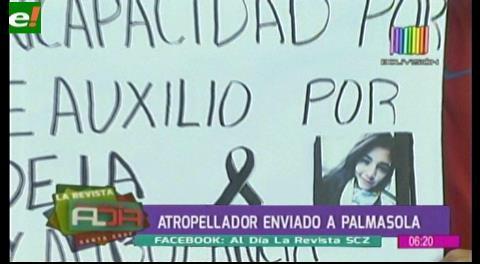 Micrero que causó la muerte de joven fue enviado a Palmasola