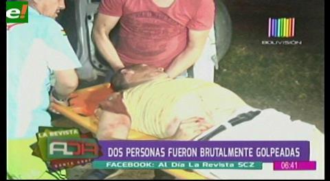 Dos hombres fueron brutalmente golpeados en un hecho confuso