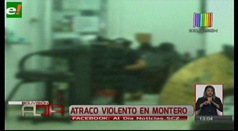 Atracos violentos en Montero