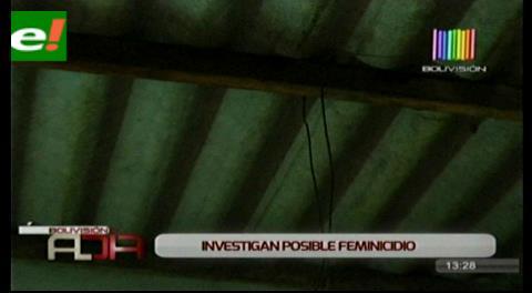 Adolescente fallece en extrañas circunstancias.  Posible feminicidio