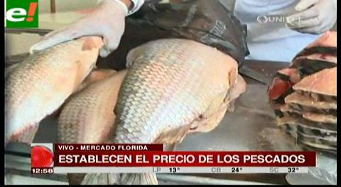 Establecen el precio de los pescados