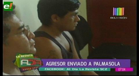 Presunto pandillero enviado a Palmasola