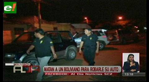 Capturan a pareja de brasileños que asesinaron a boliviano en Corumbá