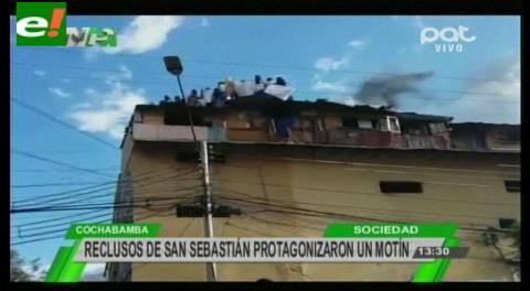 Cochabamba. Motín en San Sebastián pide renuncia de guardias