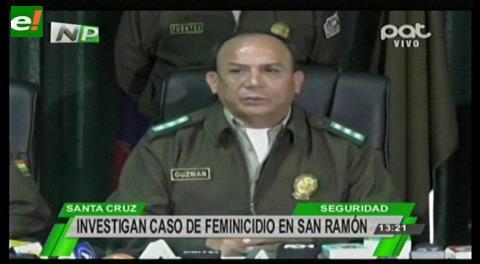 Investigan caso de feminicidio en San Ramón