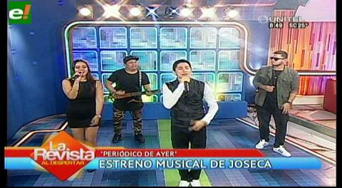 """Periódico de ayer"" estreno musical de Joseca"
