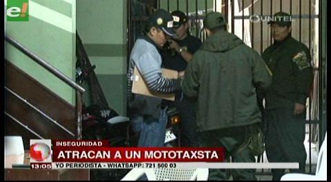 Policía detiene a atracadores de mototaxista en La Guardia