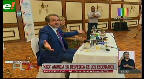 """Carlos Villagrán """"Kiko"""" está de visita en Santa Cruz"""