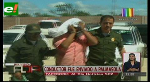 Conductor que atropelló a trabajadora de aseo urbano fue enviado a Palmasola