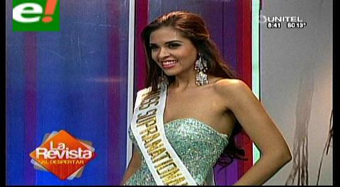 María Fernanda Rojas representará a Bolivia en el Miss Supranational 2014