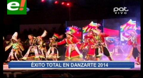 Concluye con éxito el Festival Danzarte 2014