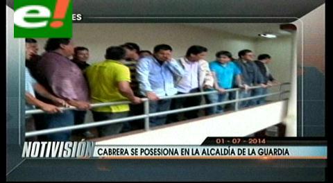 Titulares: Jaime Cabrera asume la Alcaldía de La Guardia