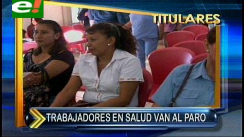 Titulares: Trabajadores del Sinec acatan paro de 72 horas