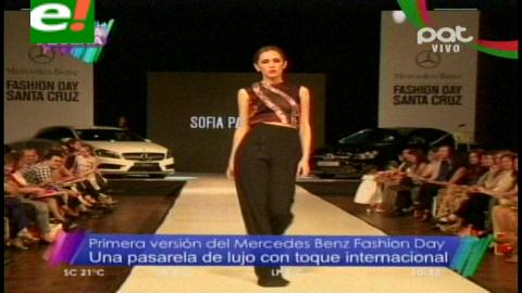 Mercedes-Benz Fashion Day: Glamour y brillo en pasarela
