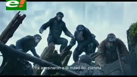 El planeta de los simios: Confrontación, la batalla crucial