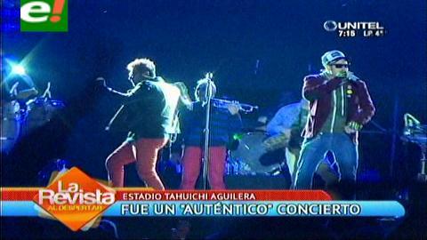 Auténticos Decadentes y AB Quintanilla: Un concierto lleno de sorpresas