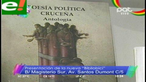 """Centro Cultural """"Bibliobici"""" abrirá sus puertas"""