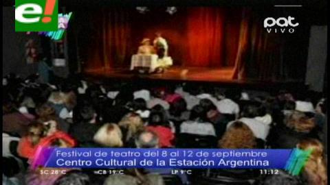 Festival de Teatro Intercolegial del 8 al 12 de septiembre