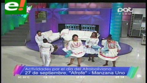 Afrobolivianos preparan festividades por su aniversario