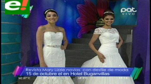 Mary Lizzie Novias alista 3 desfiles de lujo para festejar sus 11 años