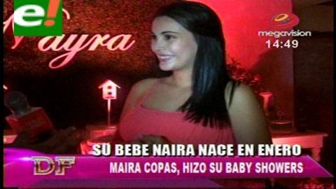Mayra Copas en la dulce espera de su primogénita