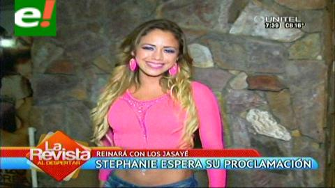 Stephanie Herela, reina de la Agrupación Carnavalera Jasayé