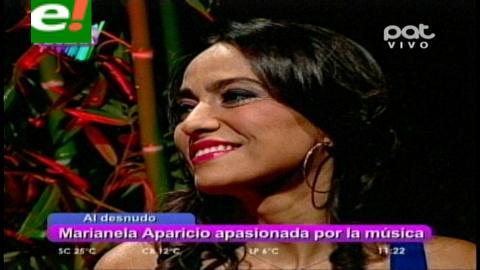 Marianela Aparicio al desnudo