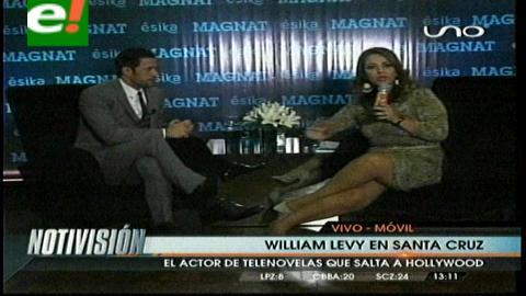 """William Levy: """"Quisiera ser un ejemplo para todos los jóvenes, en la vida todo se puede"""""""