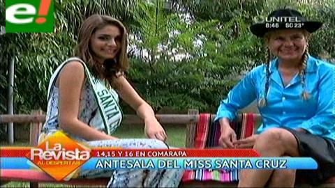 Comarapa, antesala del Miss Santa Cruz 2015
