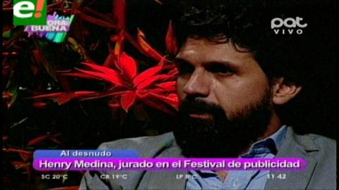 Henry Medina al desnudo