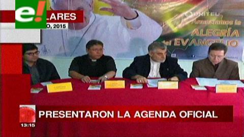 Titulares de TV: Iglesia Católica presentó la agenda oficial del Papa en Bolivia