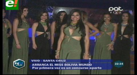 Miss Bolivia Mundo 2015: Presentaron a las 12 candidatas