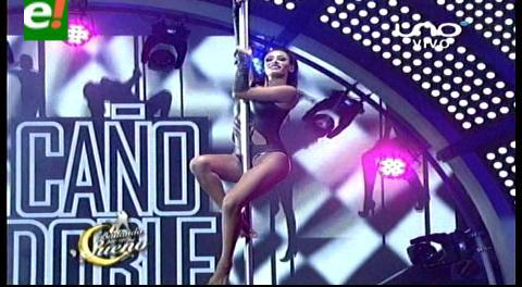 Claudia Tavel le puso fuego en la pista del «Bailando»