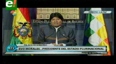 Morales saluda acuerdo Colombia-FARC y dice que es señal para resolver controversias mediante el diálogo