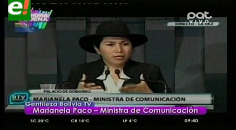 Bolivia invita a Agente y Canciller chilenos para una entrevista en el canal estatal