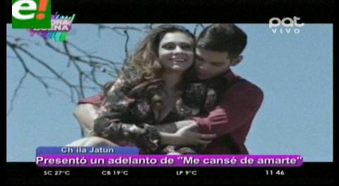 Fabiana Villarroel protagoniza videoclip de Ch'ila Jatun