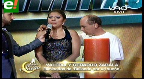 «Ra propia»  y Valeria son eliminados de Bailando por un sueño