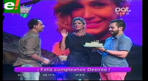 Desirée Durán está de cumpleaños y contó algunas de sus cosas curiosas