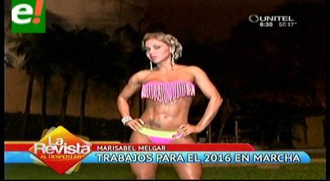 María Isabel Melgar prepara sexy calendario 2016
