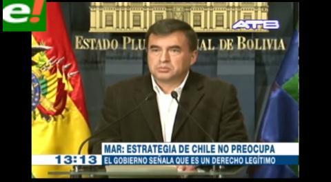 Al gobierno boliviano dice no importarle el refuerzo del equipo chileno ante La Haya