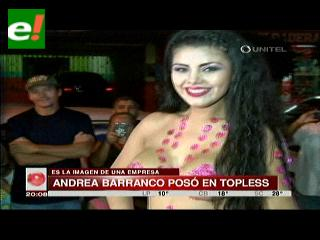 El topless de Andrea Barrancos