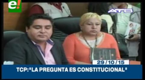 Titulares de TV: TCP declaró que la pregunta del referéndum que modificará parcialmente la Carta Magna es constitucional