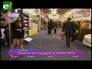 La Feria Internacional de La Paz abrió sus puertas