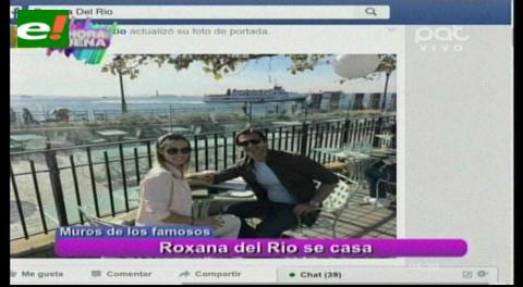 """Roxana Del Río y """"Mamén"""" Saavedra se casarán"""